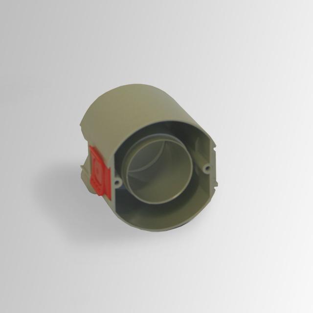 Reuter concealed box for vacuum inlet socket system