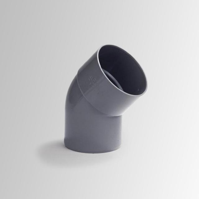 Reuter pipe bend with one bushing