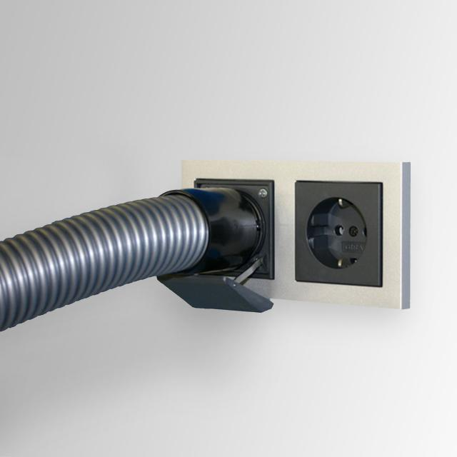 Reuter vacuum inlet for socket system matt anthracite