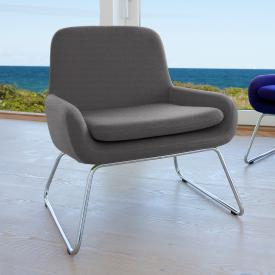 Softline Coco armchair with runners