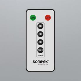 Sompex remote control for flame LED candle
