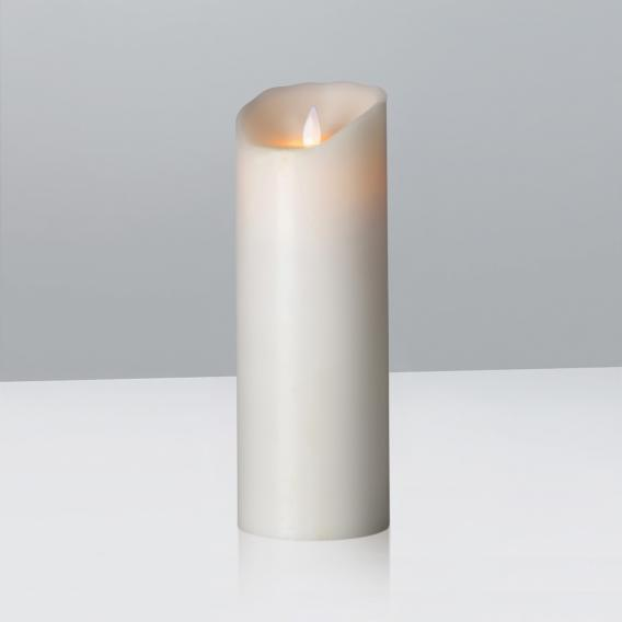 Sompex Flame LED real wax candle with timer, remote controllable, large