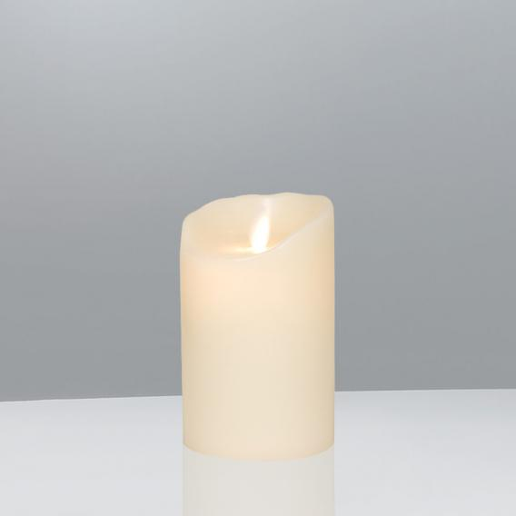 Sompex Flame LED real wax candle with timer, remote controllable, small