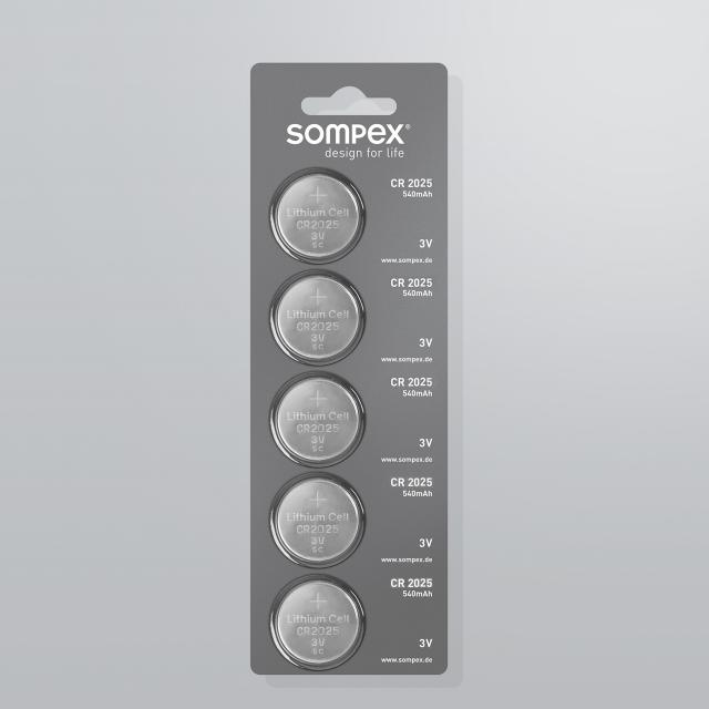 Sompex CR2025 cell battery for remote control 49990