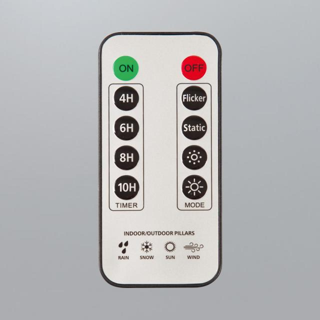 Sompex remote control for LED outdoor candles