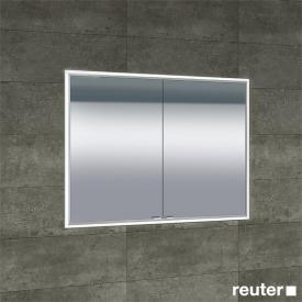 Sprinz Classical-Line recessed mirror cabinet fully illuminated