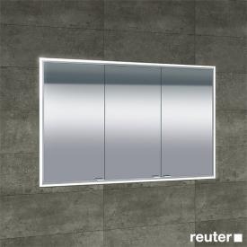 Sprinz Classical-Line recessed mirror cabinet fully illuminated