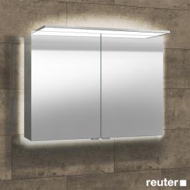 Sprinz Modern-Line mounted mirror cabinet with panel lighting backlit