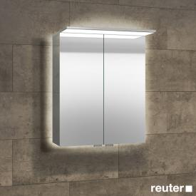 Sprinz Modern-Line mounted mirror cabinet with panel lighting backlit