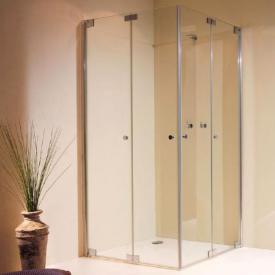 Sprinz Omega Plus bi-fold doors for corner entry