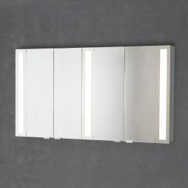 Sprinz Silver-Line mounted mirror cabinet Model no. 07 corpus matt aluminium, without backlighting