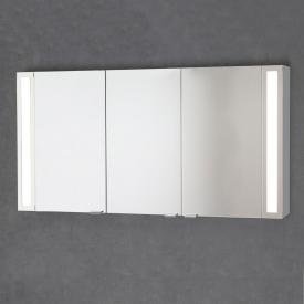 Sprinz Silver-Line mounted mirror cabinet Model no. 03 corpus matt aluminium, without backlighting