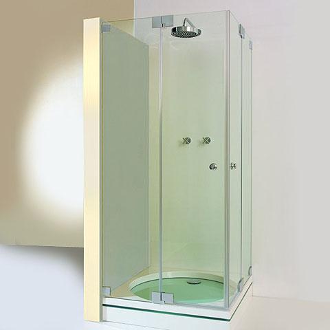 Sprinz Omega corner entry light crystal SpriClean / chrome