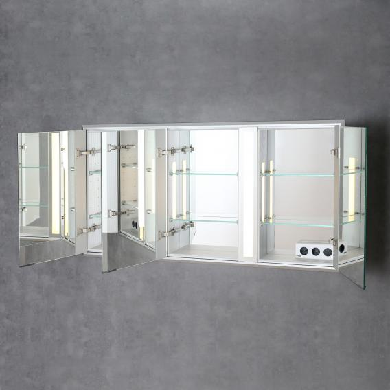Sprinz Silver-Line recessed mirror cabinet Model no. 04 without backlighting
