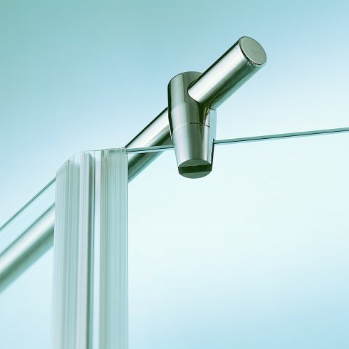 Sprinz stabiliser for glass-panel, round L: max.100 cm