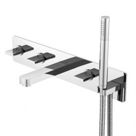 Steinberg 230 five hole, wall-mounted bath/shower mixer