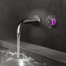 Steinberg iFlow Robinetterie de lavabo mural électronique chrome