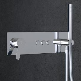 Steinberg Sensual Rain concealed single lever mixer for 3 outlets