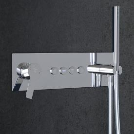 Steinberg Sensual Rain concealed single lever mixer for 4 outlets