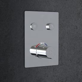 Steinberg Sensual Rain concealed thermostat for 2 outlets