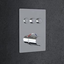 Steinberg Sensual Rain concealed thermostat for 3 outlets