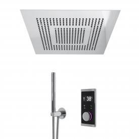 """Steinberg Sensual Rain """"iFlow"""" shower system with Sensual Rain """"Wall Rain"""" rain panel, square without lighting"""