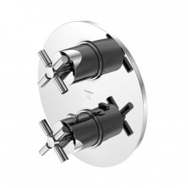 Steinberg Sensual Rain trim set for concealed thermostatic shower mixer with 2-way diverter chrome