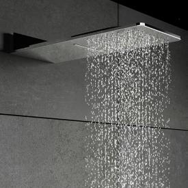 "Steinberg Sensual Rain ""Wall Rain"" rain panel polished stainless steel"