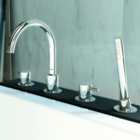 Steinberg Series 100 4 hole deck-mounted bath/shower mixer