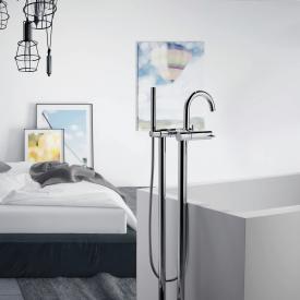 Steinberg Series 100 freestanding bath/shower mixer chrome
