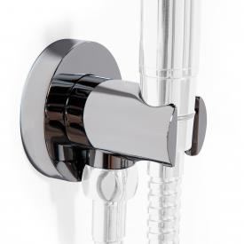 Steinberg Series 100 shower wall bracket and wall-elbow chrome