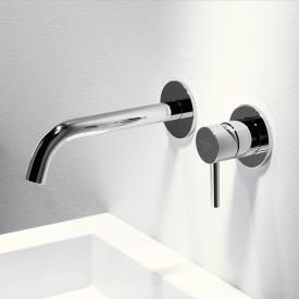 Steinberg Series 100 wall-mounted single lever basin mixer projection: 195 mm