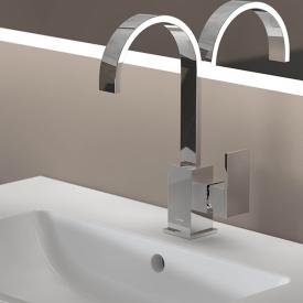 Steinberg Series 135 single lever basin mixer with swivel spout chrome, without waste set
