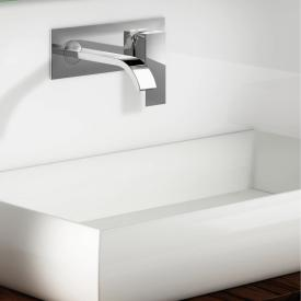Steinberg Series 135 wall-mounted single lever basin mixer projection: 175 mm