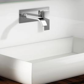 Steinberg Series 135 wall-mounted single lever basin mixer projection: 200 mm