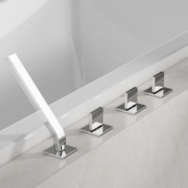 Steinberg Series 160 4 hole deck-mounted bath/shower mixer