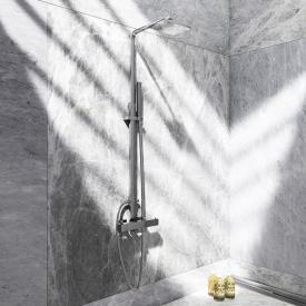 Steinberg Series 160 shower set, complete with thermostatic fitting chrome