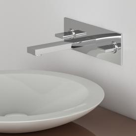 Steinberg Series 160 wall-mounted three hole basin mixer projection: 200 mm