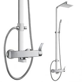 Steinberg Series 180 shower set complete with single lever mixer