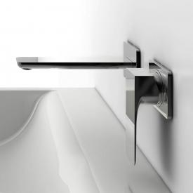 Steinberg Series 200/205 wall-mounted, single lever basin mixer projection: 200 mm