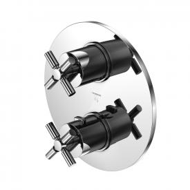 Steinberg Series 250 trim set for concealed thermostatic shower mixer with 3-way diverter
