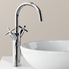 Steinberg Series 250 two handle basin mixer with pop-up waste set