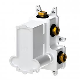 "Steinberg Steintec concealed installation unit 1/2"", for thermostats with diverter white/matt black"