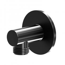 "Steinberg Universal wall-mounted elbow outlet 1/2"" matt black"