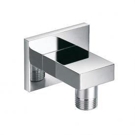 "Steinberg wall mounted elbow outlet 1/2"" chrome"