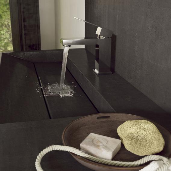 Steinberg Series 160 single lever basin mixer with pop-up waste set