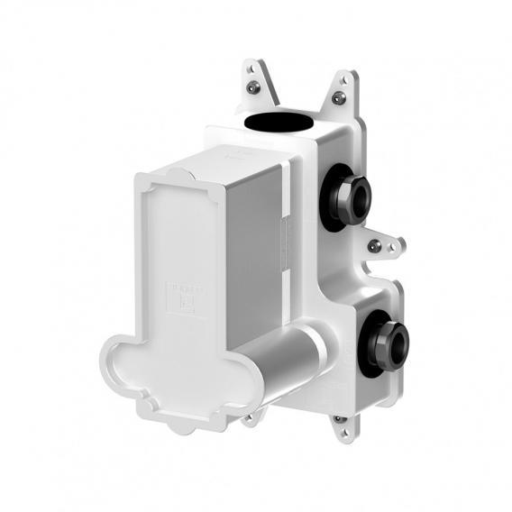 """Steinberg Steintec concealed installation unit 1/2"""" for thermostats white/matt black"""