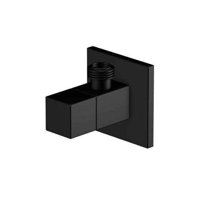 "Steinberg angle valve with 3/8"" connection for flexible hose matt black"