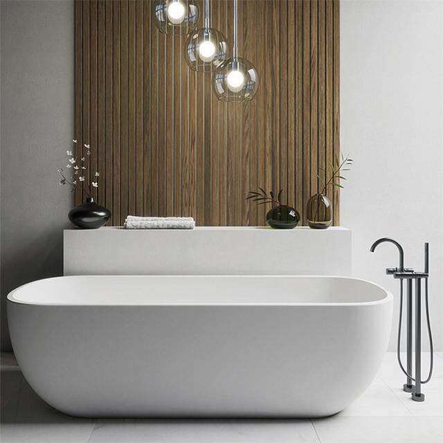 Steinberg Series 100 freestanding bath/shower mixer matt black