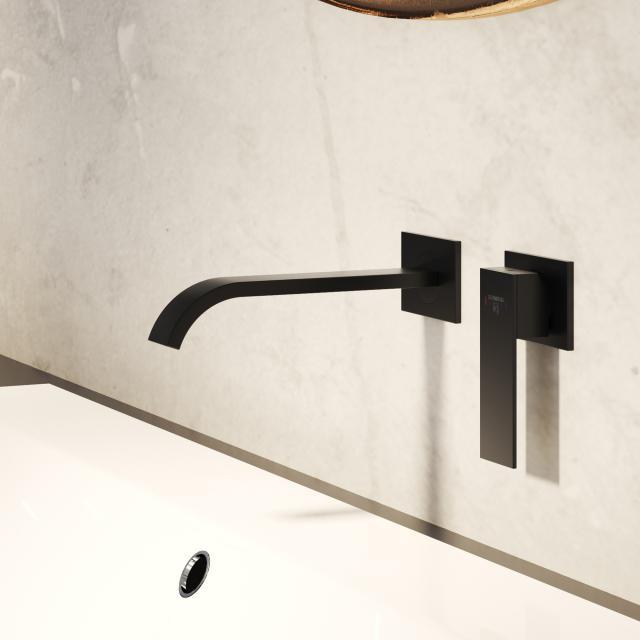Steinberg Series 135 the NEW trim set for single lever basin mixer matt black, projection: 200 mm
